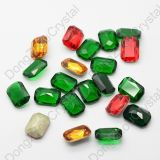 Jewelry Making Loose Stone Dz-3008 Octagon Point Back Crystal Fancy Glass Stone