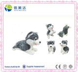 Soft Little Lifelike Huskie Dog Plush Doll