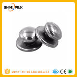 2PCS Kitchen Tool Cookware Accessories Stainless Steel Replacement Cookware Pot Lid Handle Circular Holding Knob Jarhead Handle