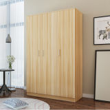 Latest Cheap Closet Cabinet Bedroom Wood Particle Board Wardrobe