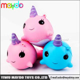 2018 Hot Selling Squishies Unicorn Narwal PU Squishy Slow Rising Toys