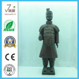 Polyresin Sculpture Chinese Terracotta Statue for Decoration
