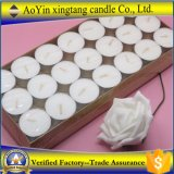 Wholesale 21PCS Cheap Price White Tealight Candles in Paper Box