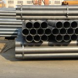 Black Painted ERW Ms Welded Hollow Section Steel Pipe
