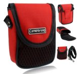 Red Universal Soft Compact Digital Camera Case Bag Pouch Sh-16051336