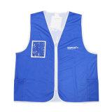 Healong 100%Polyester Custom Logo Work Vest Wholesale Reflective Safety Vest
