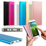 New Arrive Ultra-Thin Mobile Power Bank 20000 mAh Mobile Phone Universal Charger Business Personality Gift Customized with Good Price