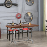 New Restaurant Wooden Table with Garden Furniture Outdoor