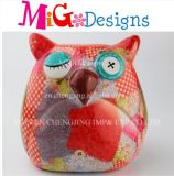 Wholesale Make Face Owl Ceramic Craft Coin Bank