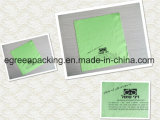 Personalized Green Color Microfiber Cleaning Cloth for Eyewear