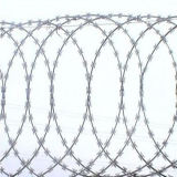 Welded Galvanized Stainless Steel Safety Concertina Flat Razor Barbed Wire