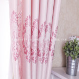 Poly Soft Touching Jacquard Blackout Curtain Fabric for Living Room/Bedroom