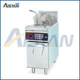 Df26A Vertical 1-Tank Electric Deep Oil Fryer for Commerical Kitchen