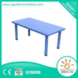 Kindergarten Furniture of Retangle Plastic Table with Top Quality