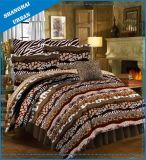 5 Piece Animal Prints Polyester Comforter Set