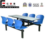 Modern Canteen Dining Table Chairs Benches of Restaurant Furniture for Coffee Room Outdoor