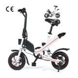 36V 6.6ah 350W Electric Folding Bikes 12/ 14 Inch Electric Bike Portable Bicycle Mini Pocket Bike