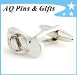 Cuff Links with Shoe Shape