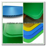 PP Coroplast Sheet with Sealed Edge and Round Corners for Beverage Packing
