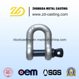 China OEM Alloy Steel Forging Shackle for Railway
