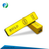 2200-3000mAh Power Bank for Mobile Phone in Gold