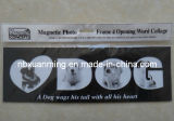 4 Opening Word Collage Dog Magnetic Photo Frame