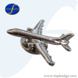 3D Airplane Metal Badge for Gift