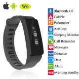 Anti-Lost Bluetooth 4.0 Smart Bracelet with OLED Display (W6)