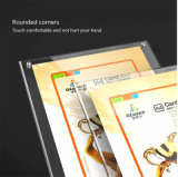A6 Table Acrylic Menu Paper Sign Holder Stand Price Ticket Holder Poster Picture Photo Frame for Christmas Advertising