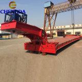 Lowboy Trailer Excavator Transportation Vehicle