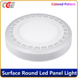 LED Panel Light Round Double Color 3+3W/6+3W/12+6W/18+6W LED Panel Lamp Round LED Panel Light Ceiling Ceiling Light