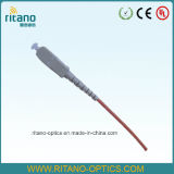 Sc Multi-Mode 50/125 Optical Fiber Pigtails Low Loss 0.2dB with Stable Data Working