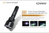 Factory Source Profession Tactical, Rechargeable, Dual Switch LED Flashlight for Hunting, Searching, Camping.