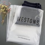Translucent PVC Clear Plastic Design Zipper Logo Frosted Poly Bags for Clothes Shirt Swimwear Packaging