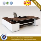 White Lacqure High Glossy Executive Table Wooden Office Furniture (HX-5DE483)