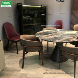 Dining Room Furniture Set Marble Dining Table Upholstered Leather Dining Chair (DS003)