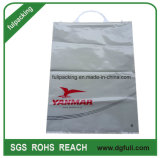 Wholesale Printed Rigid Snap Handle Gift Bag, Customized Shopping Plastic Bag