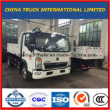 HOWO 4X2 Light Dump Truck with 2-5tons Capacity