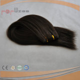 Brown Color Full Handtied Machine Made Hair Extension (PPG-l-0620)