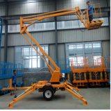 14-18 Meters Trailer Hydraulic Lift Boom Table with Ce