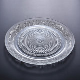 Wholesale Cheap Clear Glass Dinner Plate