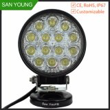 42W LED Auto Working Lighting Waterproof Offroad Car Truck Jeep ATV, SUV, Ute Driving