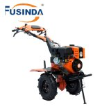 Fg1050, 7HP 4.4kw Gasoline Power Tiller with Two Wheels Tiller, Mini Tiller Garden Tiller Farm Tiller Rotary Tiller