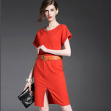 Latest Design Fashion European Style Elegant Lady Dress