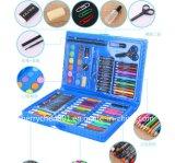 86PCS Crayon, Water Pen Stationery Set, Sky-0086