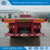 40FT 3 Axle Flatbed Container Semi Trailer for Good Sale in Best Price