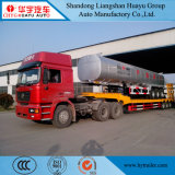 China Manufacture 3 Axle Lowboy/Low Boy/Low Deck/Lowbed/Low Bed Truck Semi Trailer for Excavator, Engineering Vehicle and Construction Machinery Transport
