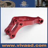 Aluminium CNC Milling Parts with Red Anodize