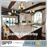 Granite Kitchen Countertop with Polished Surface in Eased Edge Treatment