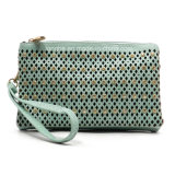 Laser Cut Rhinestone Stud Ladies Clutch (ZXS0046)